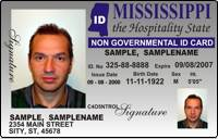 Koran Ms Identification sticken - Card co