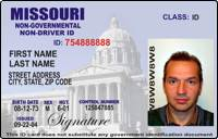 non drivers license id missouri